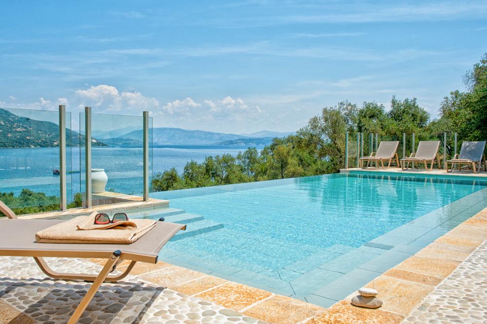 Barbati View, sleeps 10, prices from £5,169 per week