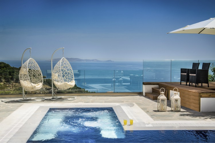Villa Agapios, sleeps 8-10, prices from £70pppn