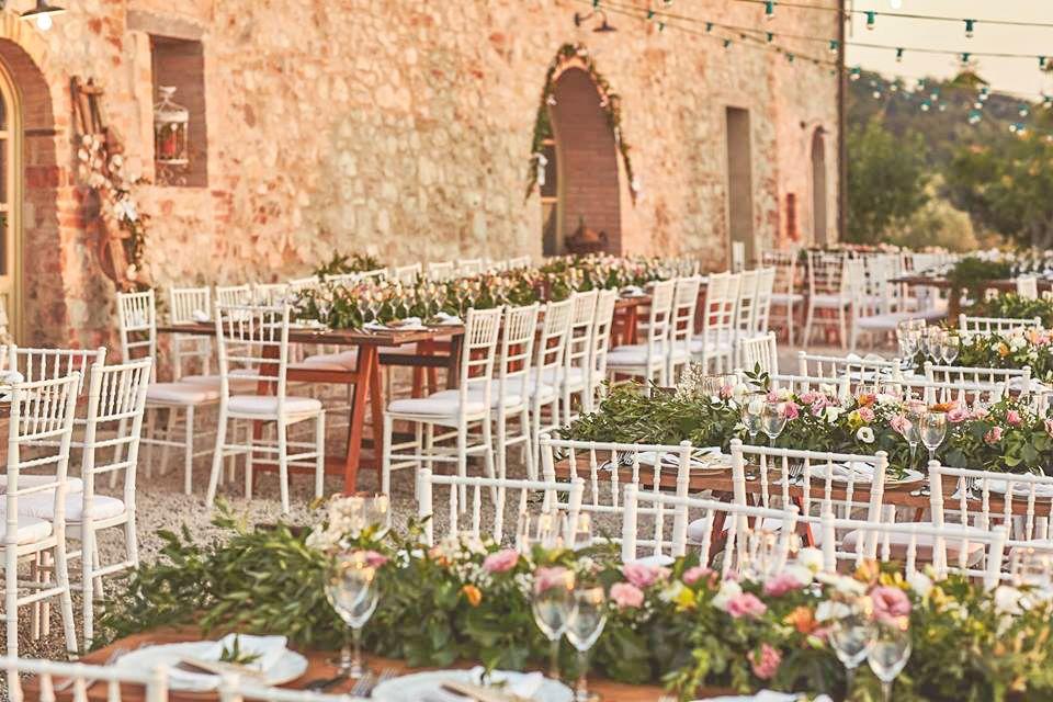 Villa Monte Nero Wedding Reception