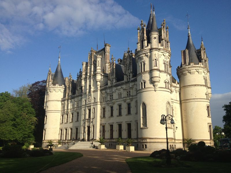 Chateau de Challagne - Central France - Loire Valley - Oliver's Travels