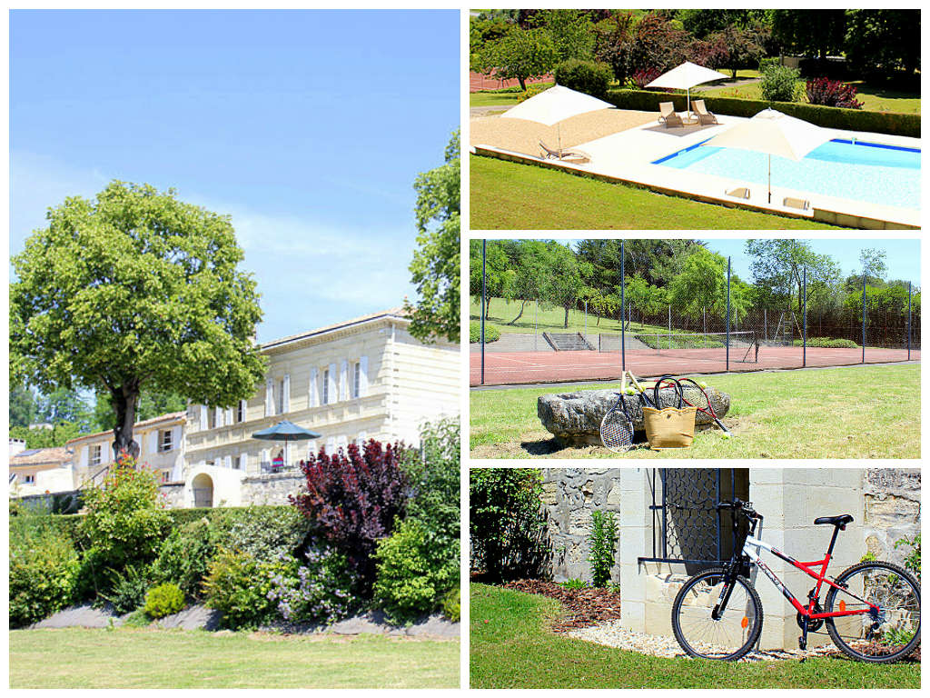 Chateau La Roque - Aquitaine - Holiday Villa - Sleeps 9