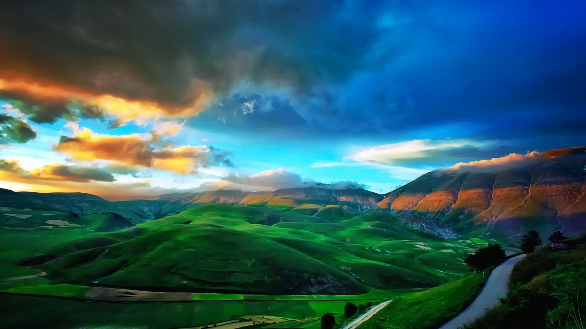 Top 4 places for natural beauty in tuscany oliver 39 s for Green italy