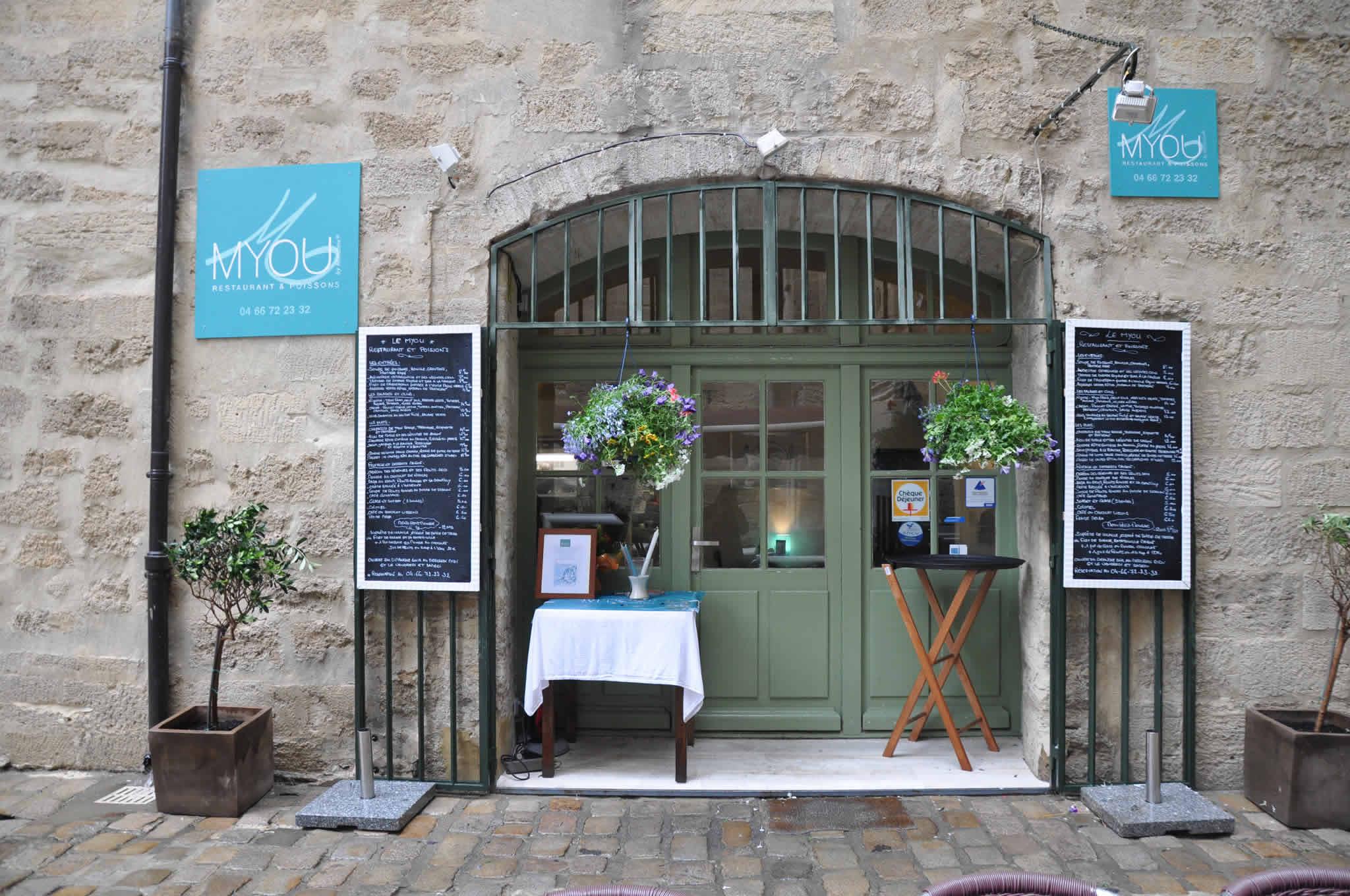 Myou Restaurant Poissons