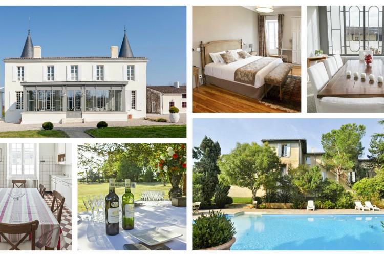 Chateau Belles Vignes - Bordeaux - Oliver's Tavels - Sleeps 12