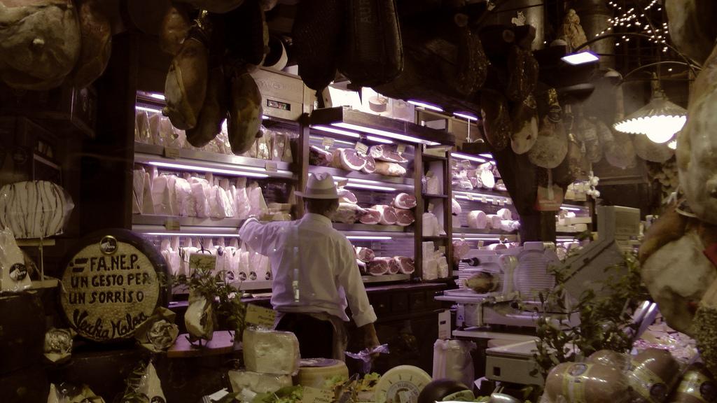 Butcher in Emilia Romagna by Christine Neder