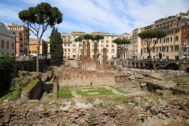 historical sites in italy