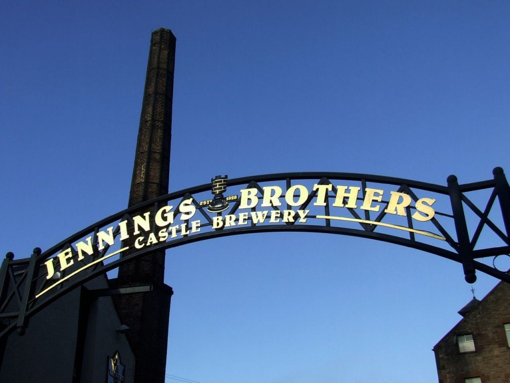Jennings Brewery - England - Image courtesy of Gavin Wilson via Flickr