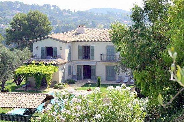 Villa Mougins, Cote d'Azur - South of France Villas - Oliver's Travels
