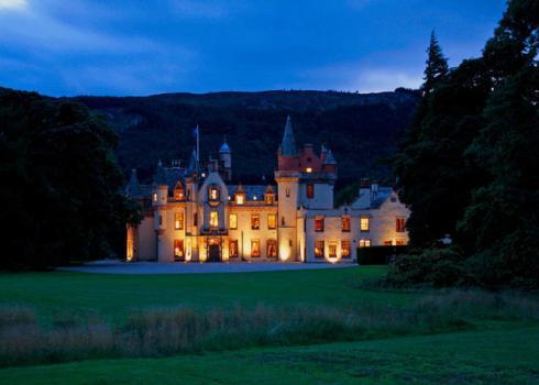 Loch Castle in Scotland