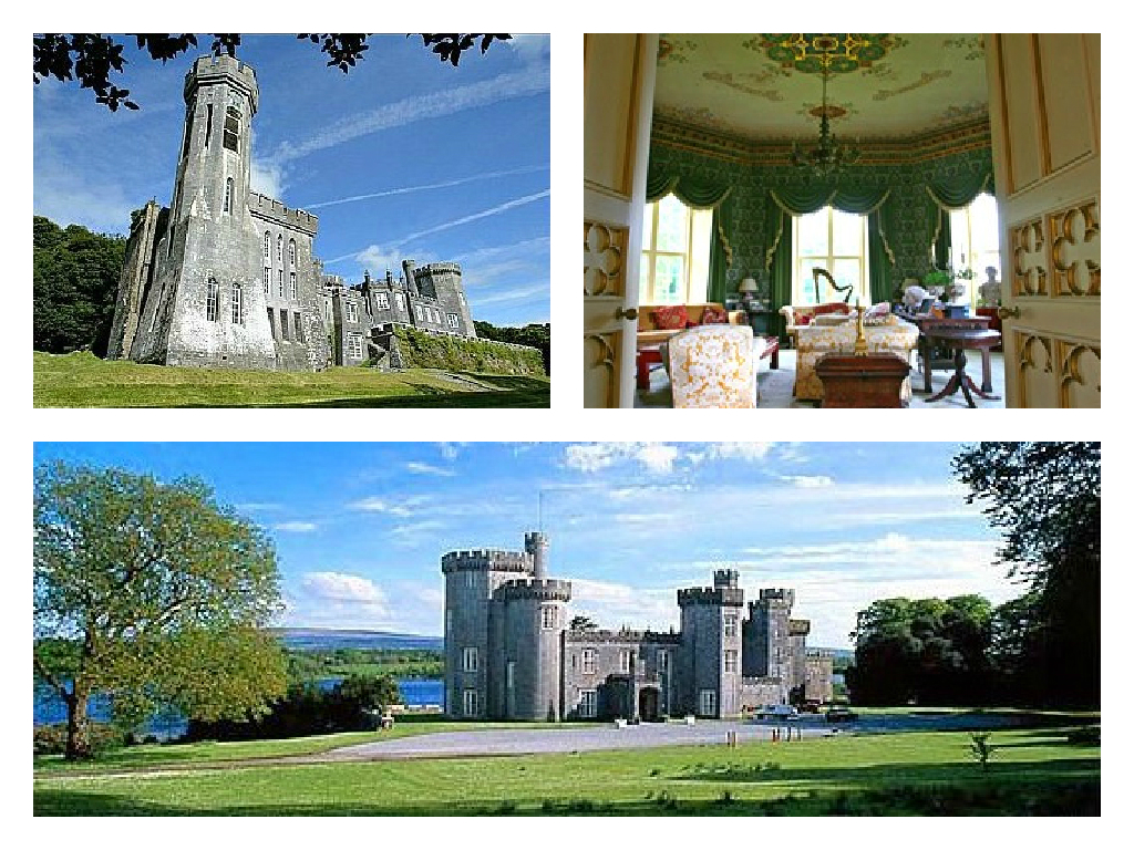 Gothic Castle Estate - Ireland - Oliver's Travels