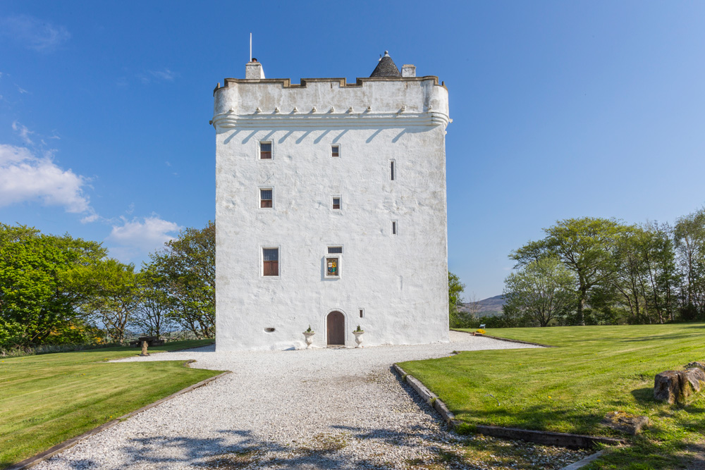 Ayrshire Castle - Scotland - Oliver's Travels