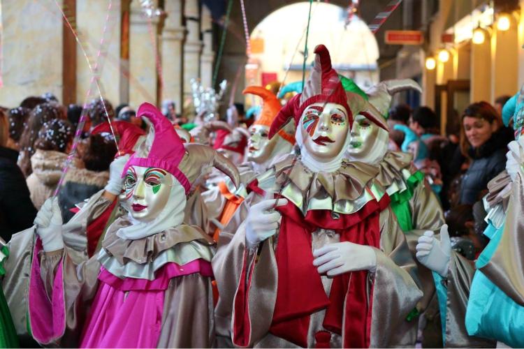 mardi gras festival france