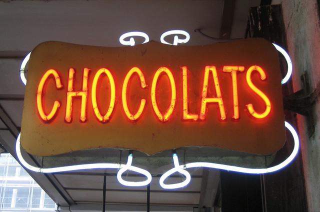 Chocolats! - Oliver's Travels (Photo via Paul Downey on Flickr)