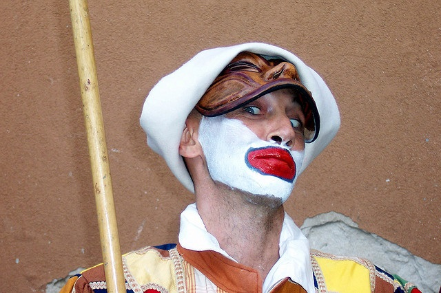 Commedia dell'Arte - Oliver's Travels (Photo via Barry Solow on Flickr)