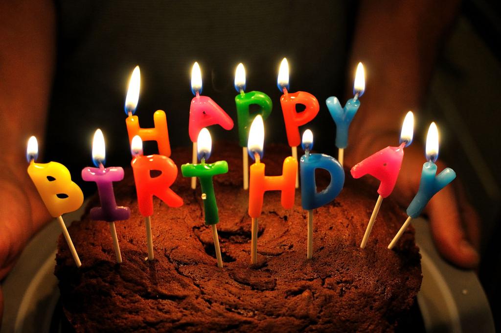 Happy birthday! - Oliver's Travels (Photo via Will Clayton on Flickr)