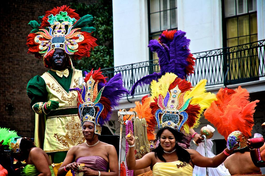 It's Mardi Gras Time! - Oliver's Travels (Image via Brad Coy on Flickr)