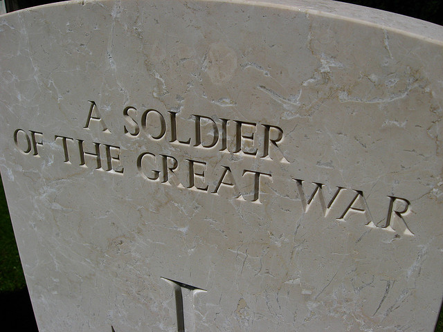 The Great War - Oliver's Travels (Image via redvers on Flickr)
