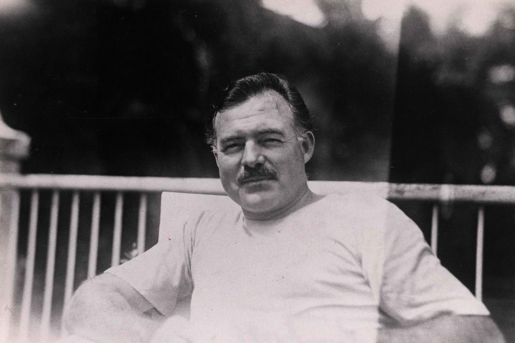 Ernest Hemingway - Oliver's Travels (Photo Courtesy of Florida Keys Public Libraries on Flickr)