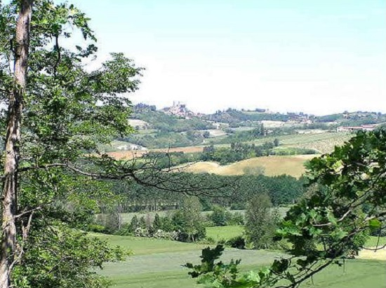 View from Villa Piemont, Tuscany - Italian Villas, Oliver's Travels