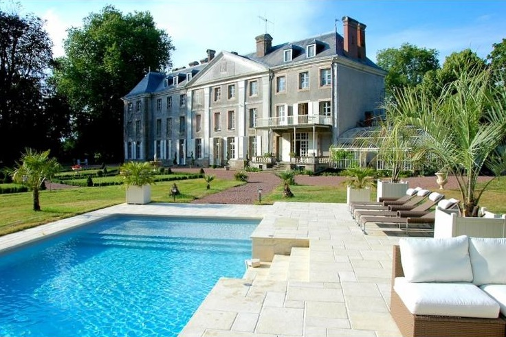 Chateau De Vezins - Loire Valley - Villas in France with Private Pool - Oliver's Travels