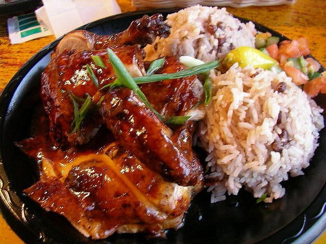 Jamaican Food Jerk Chicken