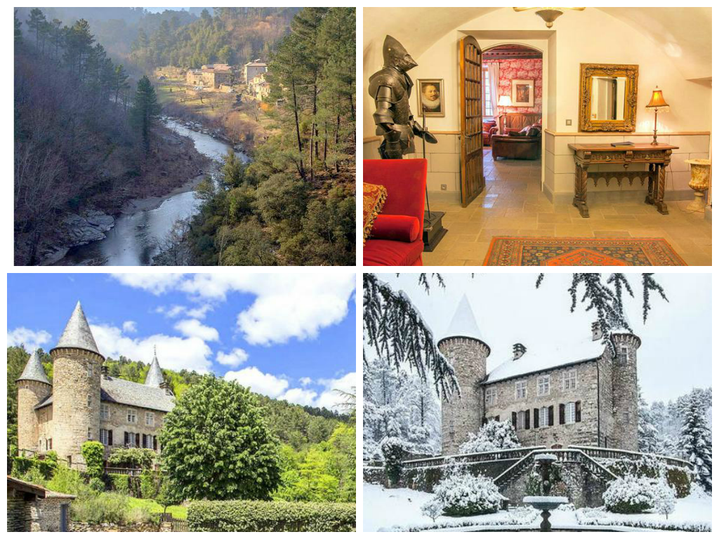 Chateau Chamborigaud - Languedoc - Luxury Villas - Oliver's Travels