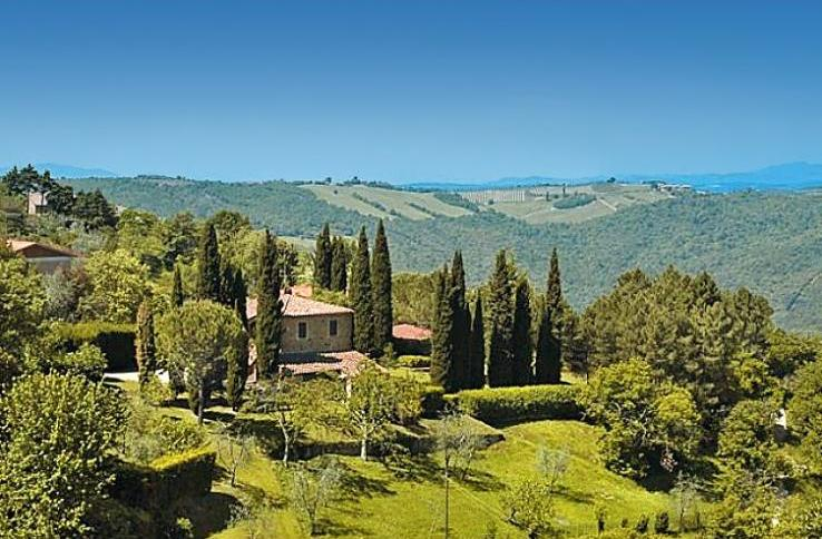 Villa montalcino - Villas in Tuscany - Oliver's Travels
