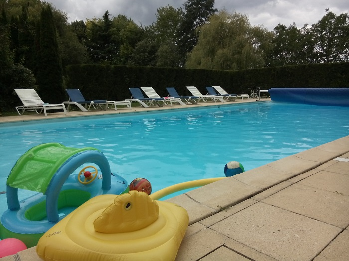 Chateau De Tille's Pool - French Chateau to Rent - Oliver's Travels