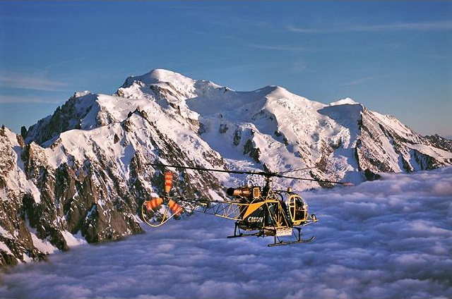 Heli skiing at Chalet Edelweiss, Rhone Alps - Luxury Catered Ski Chalets to Rent - Oliver's Travels