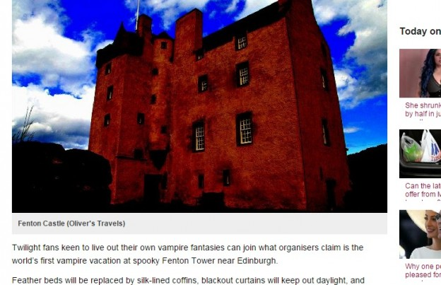 Fenton Tower - Scotland - Large Luxury Houses to Rent - Oliver's Travels