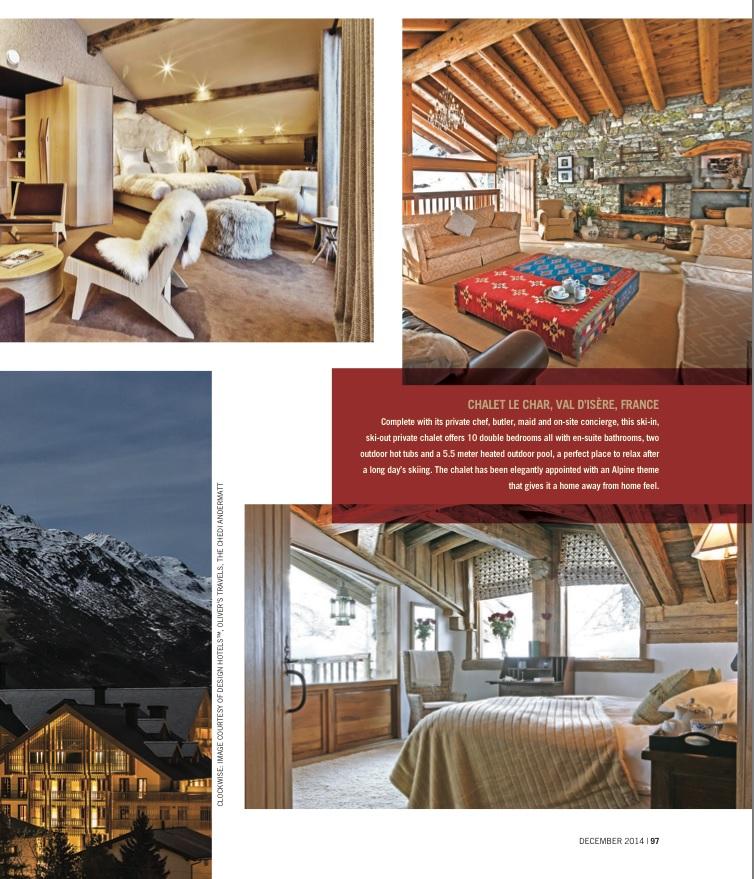 Chaket Le Char - Val D'Isere - Luxury Ski Chalet Rentals - Oliver's Travels