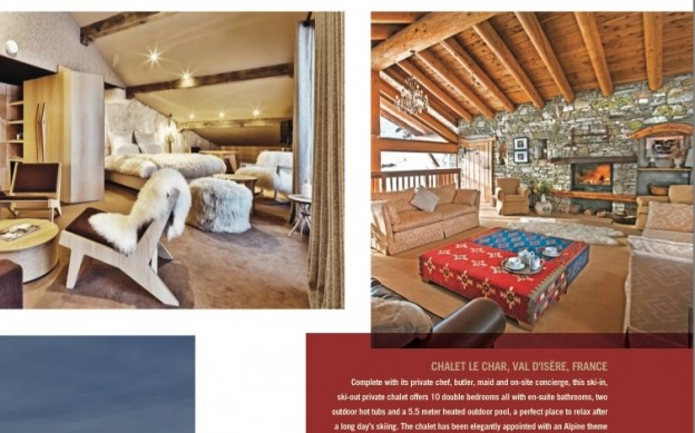 Chaket Le Char lead pic - Val D'Isere - Luxury Ski Chalet Rentals - Oliver's Travels