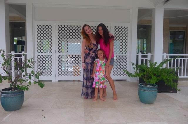 Lindsay Lohan at Alohilani - Luxury Villa Rentals - Bora Bora - Oliver's Travels