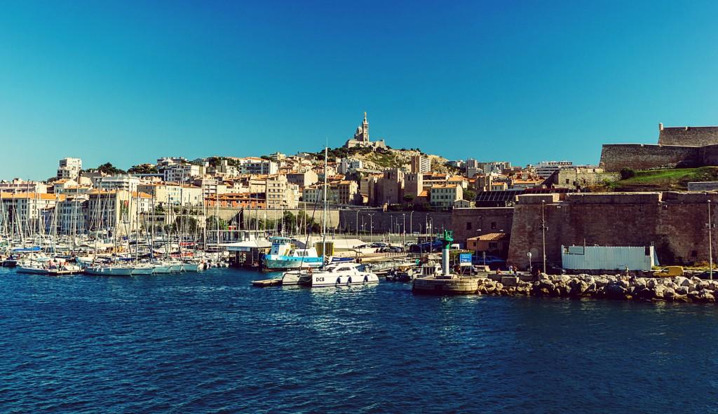 Beautiful Marseilles, France