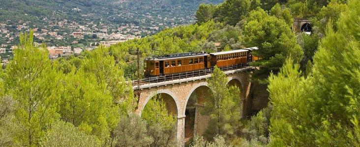 Traditional Train Journey, Mallorca