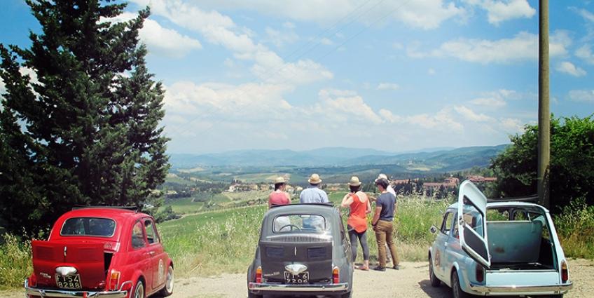 Vintage Fiat 500 Tour