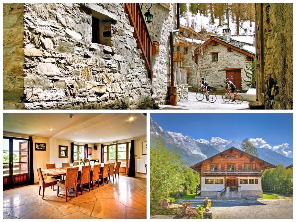 Chalet Poudreuse, Chamonix - Oliver's  Travels
