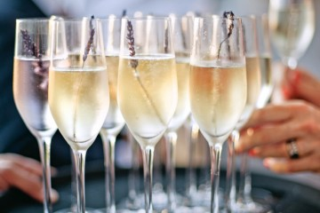 Taste the champagne in France..