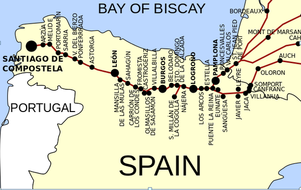 The Route of the Camino de Santiago