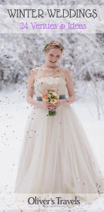 Winter really lends itself to some unbelievable (and original) ideas for all of the details that really make a wedding. Here are 24 of the best!