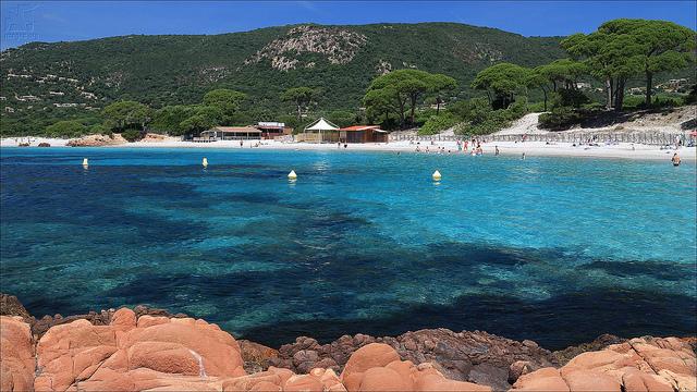Plage de Palombaggia beach south France