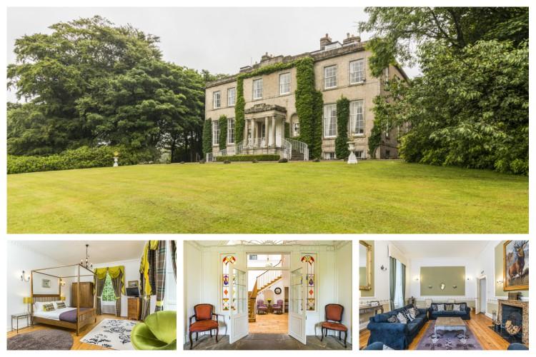 Regency Mansion - Scotland - Oliver's Travels