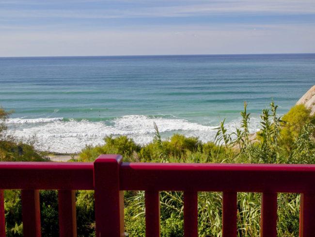 Villa Bidart beach Aquitaine south France