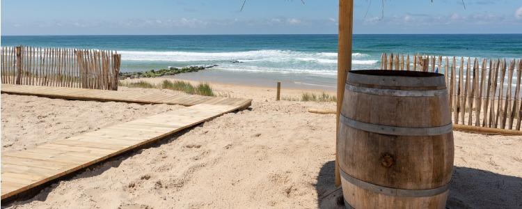 Argeles North, beach france