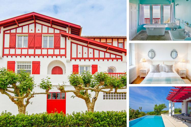 Villa Bidart - Aquitaine - Oliver's Travels