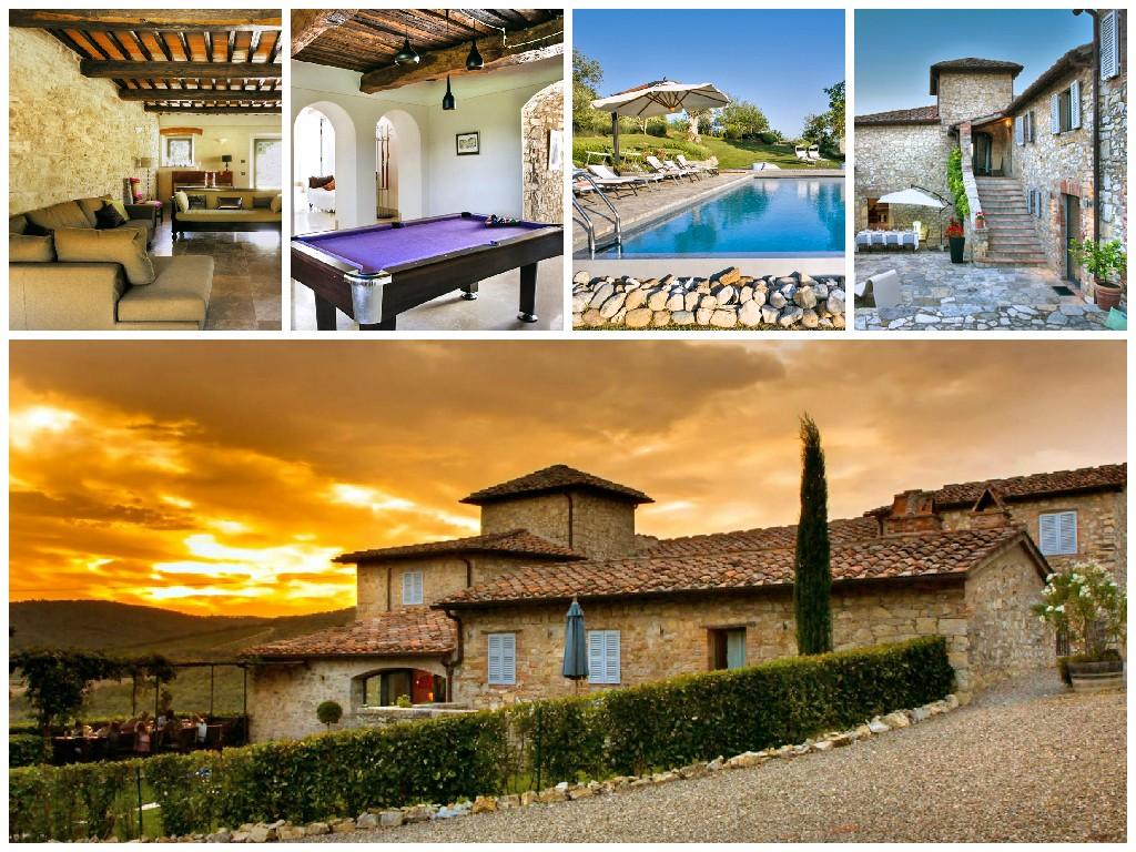 Villa Gaiole - Tuscany - Oliver's Travels