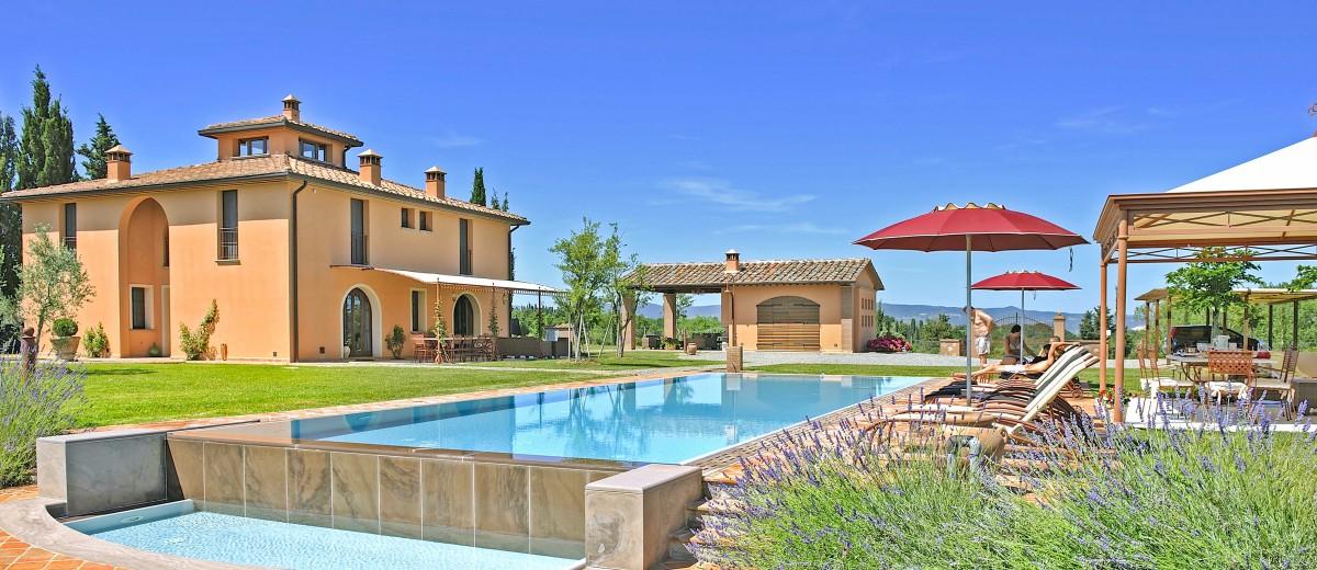 Villa La Fauci, Tuscany - Sleeps 11