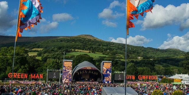 Green Man Festival in Wales