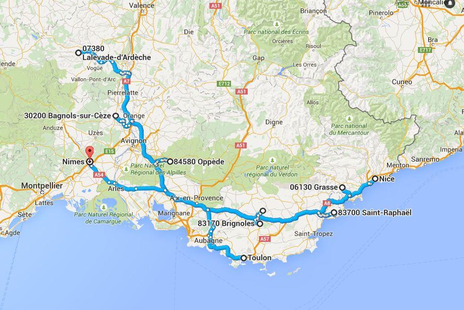 oliver 39 s travels visits the south of france oliver 39 s travels. Black Bedroom Furniture Sets. Home Design Ideas