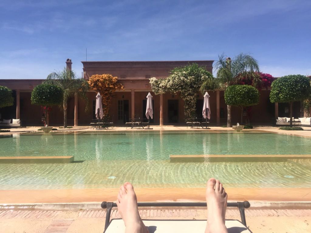 Oliver in Morocco